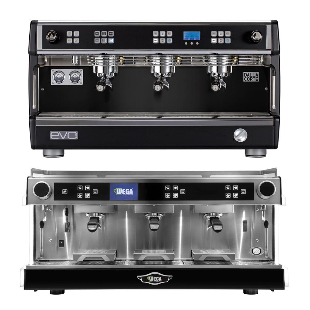 Μηχανές καφέ espresso με τεχνολογία πολλαπλών boiler