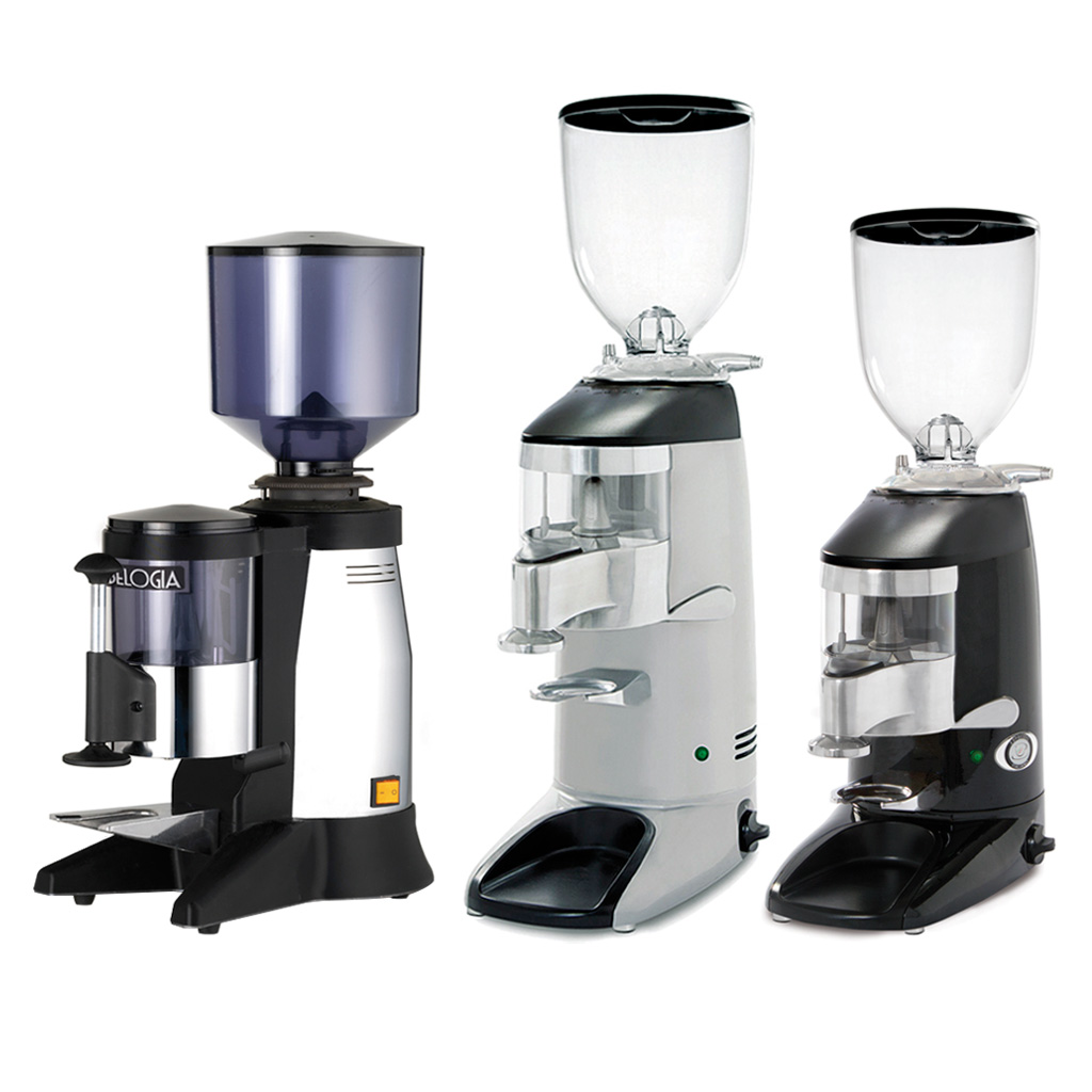 Coffee grinders with dispenser