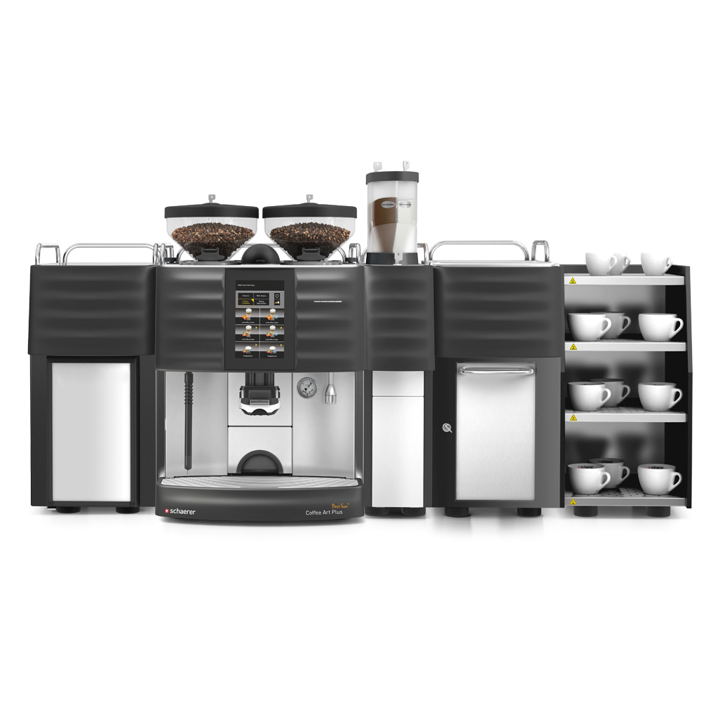 Full-automatic coffee machines