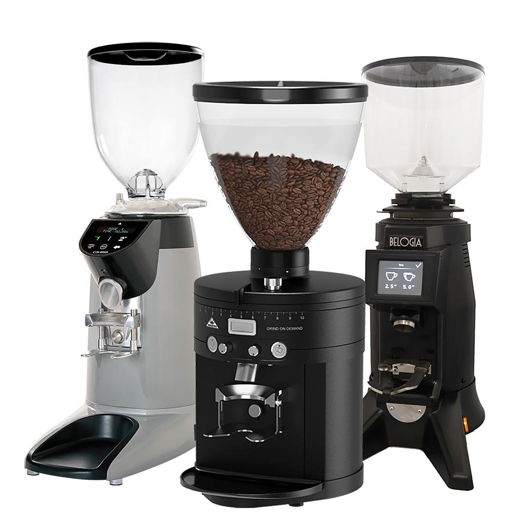 Coffee grinders on demand