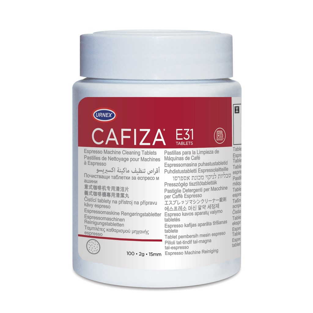 Urnex Cafiza Coffee cleaning tablets