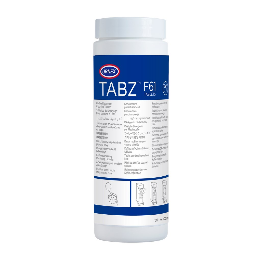 Urnex Tabz Filter coffee cleaning tablets